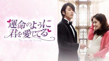 運命のように君を愛してるの動画無料サイトまとめ!日本語字幕含め1話から全話視聴!